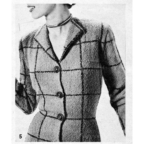 Bucilla Caprice Knitted Jacket Pattern
