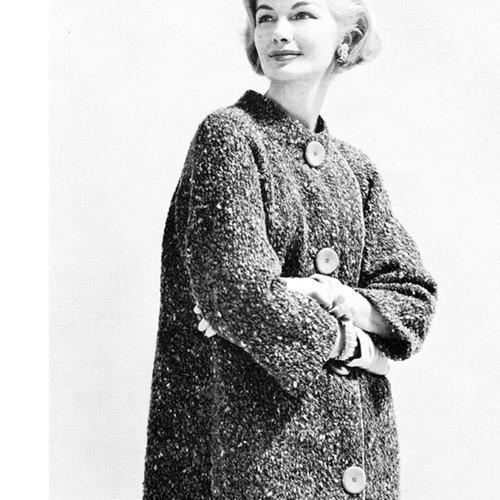 Vintage Tweed Walking Suit Pattern, 1950s
