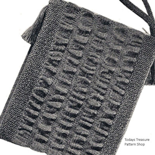 Mini-Bag, Free Knitting Pattern