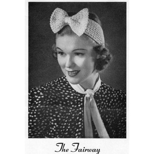 Free Crochet Headband Pattern with Large Bow