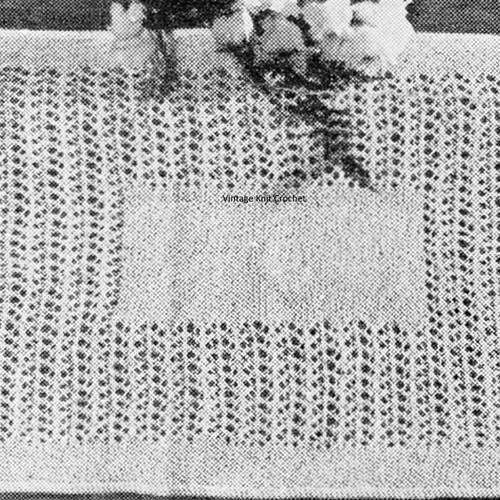 Place Mats Knitting Pattern