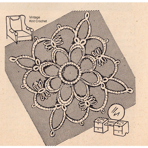 Tatting Pattern for medallions