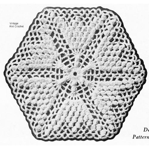 Crochet Flower Medallion Pattern, bedspread