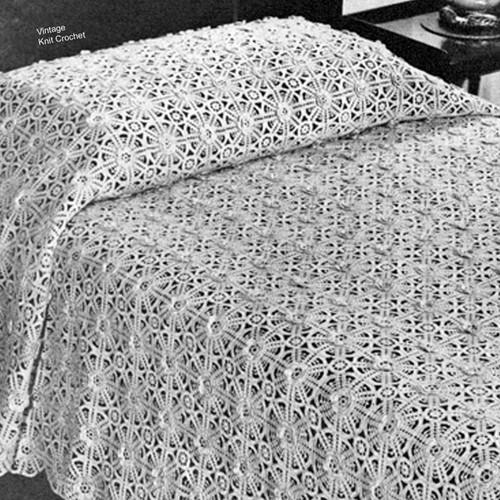 Talisman Crochet Bedspread Pattern