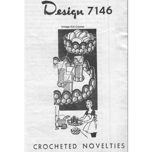 Alice Brooks 7146, Crochet Novelties Pattern