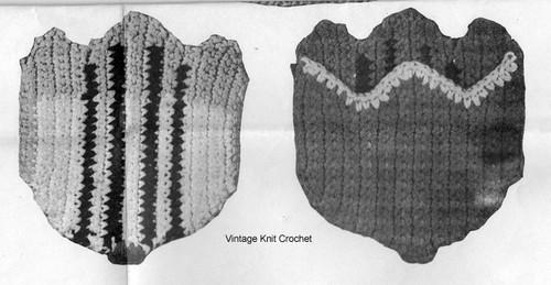 Crocheted Tulip Potholders Pattern