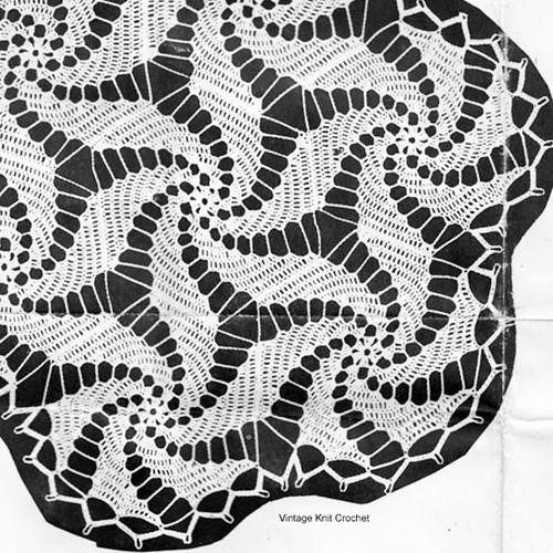 Crochet Pinwheel Doily Illustration, Mail Order 15