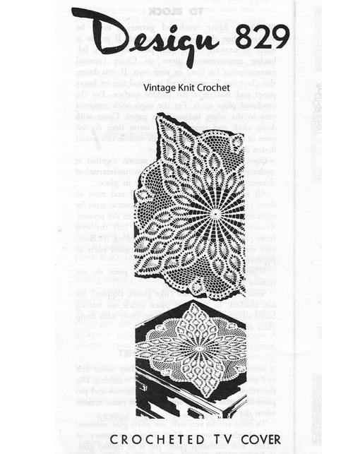 Square Pineapple Doily pattern, Laura Wheeler 829