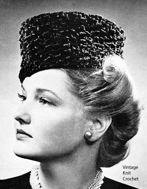 Beginners knitted Fez Hat Pattern No 144
