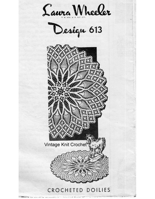 Pineapple Spiderweb Crochet Doilies, Laura Wheeler 613
