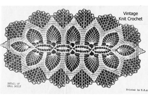 Alice Brooks Crochet Runner Pattern, Alice Brooks 6746