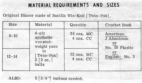 Long Crochet Blazer Pattern Design 788