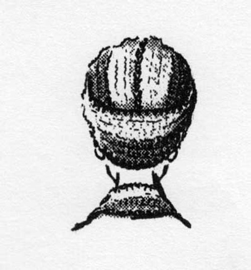 Crochet Turban Scarf Pattern, Anne Cabot 2648