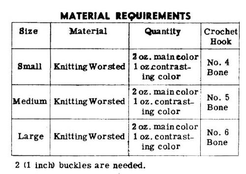 Crochet Gloves, Alice Brooks 7312