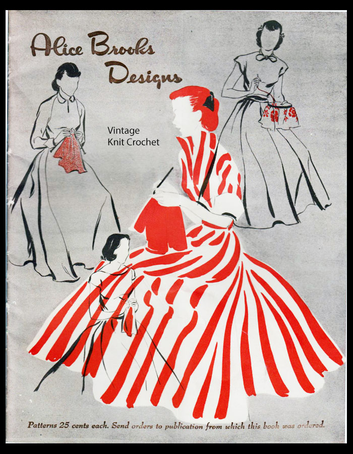 Alice Brooks 1950 Needlework Pattern Catalog