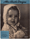 Alice Brooks 1945 Knit Crochet Pattern Catalog