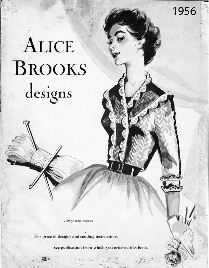Alice Brooks 1956 Needlework Pattern Catalog