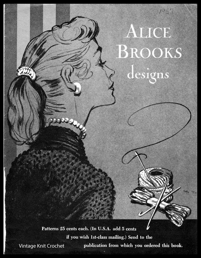 Alice Brooks 1957 Needlework Pattern Catalog