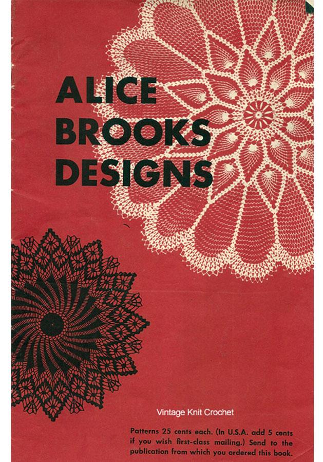 Alice Brooks 1954 Needlework Pattern Catalog