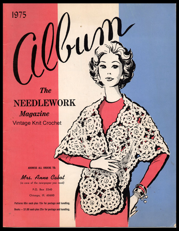 Anne Cabot 1975 Needlework Catalog