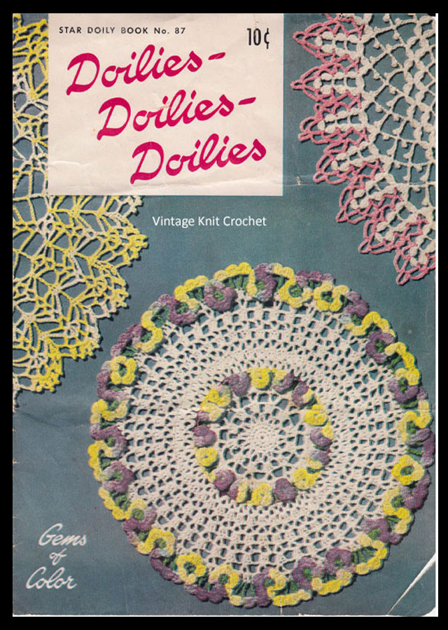 American Thread Star Book 87, Doilies Doilies Doilies