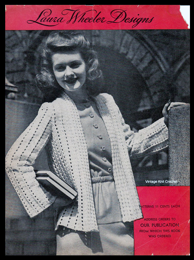 Laura Wheeler Pattern Catalog, 1944 Designs