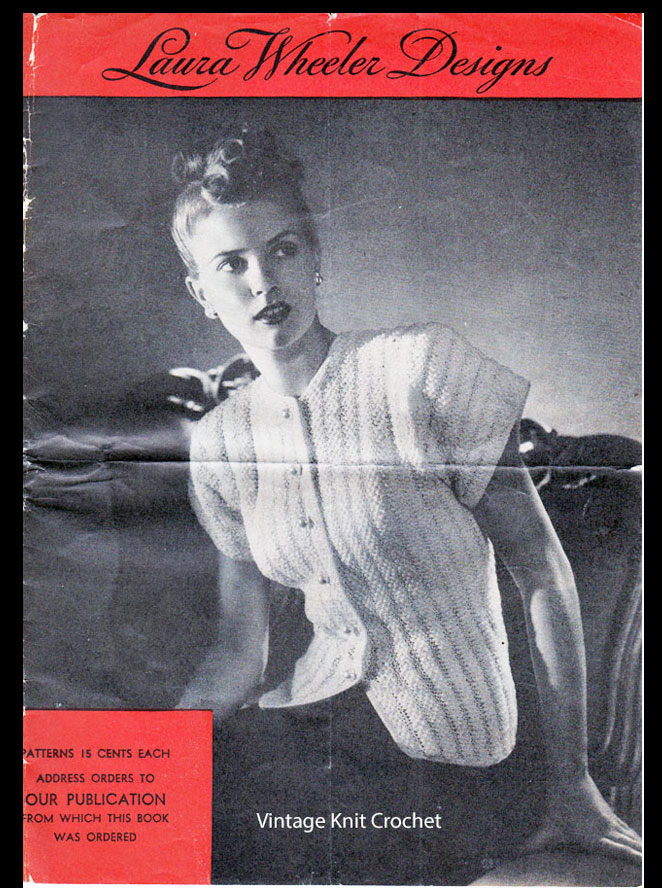 Laura Wheeler Pattern Catalog, 1946 Designs