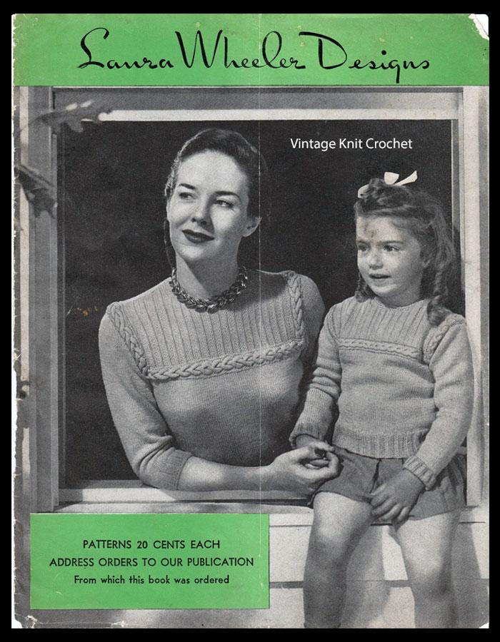 Laura Wheeler Pattern Catalog, 1948 Designs