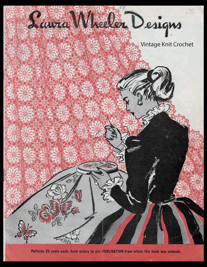 Laura Wheeler Pattern Catalog, 1949 Designs