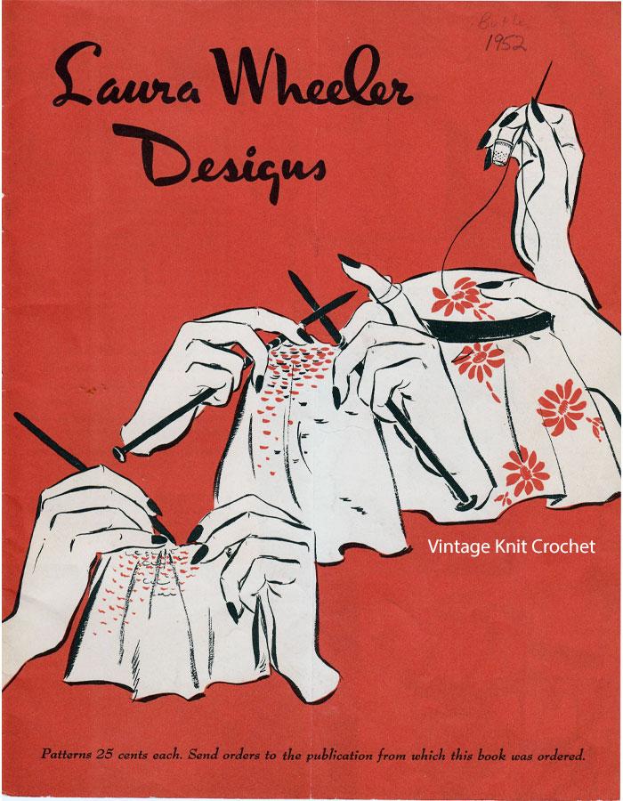 Laura Wheeler Pattern Catalog, 1952 Designs