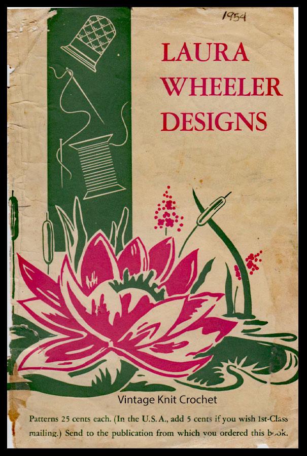 Laura Wheeler Pattern Catalog, 1954 Designs