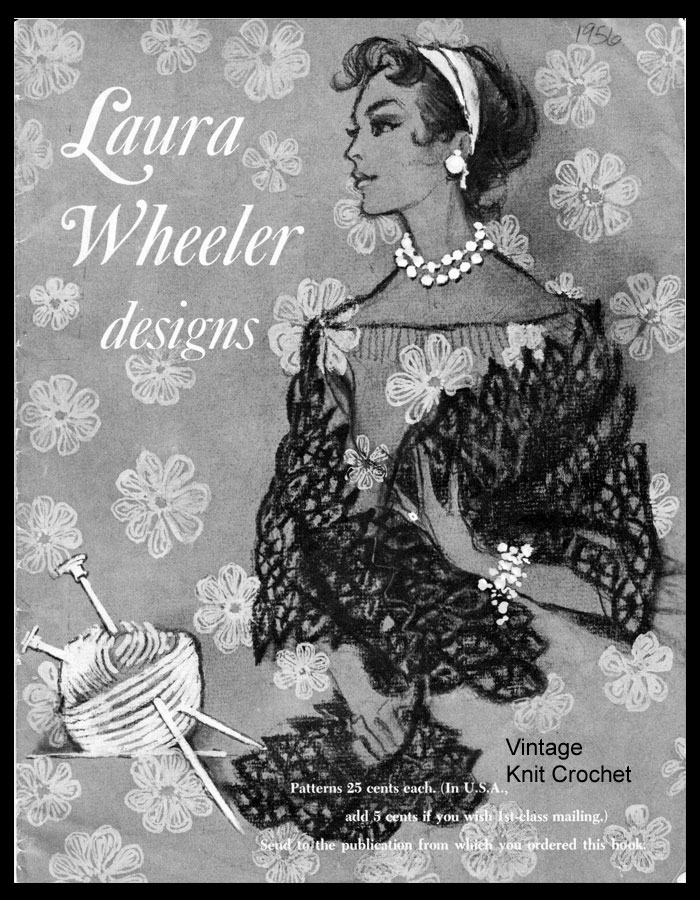 Laura Wheeler Pattern Catalog, 1956 Designs