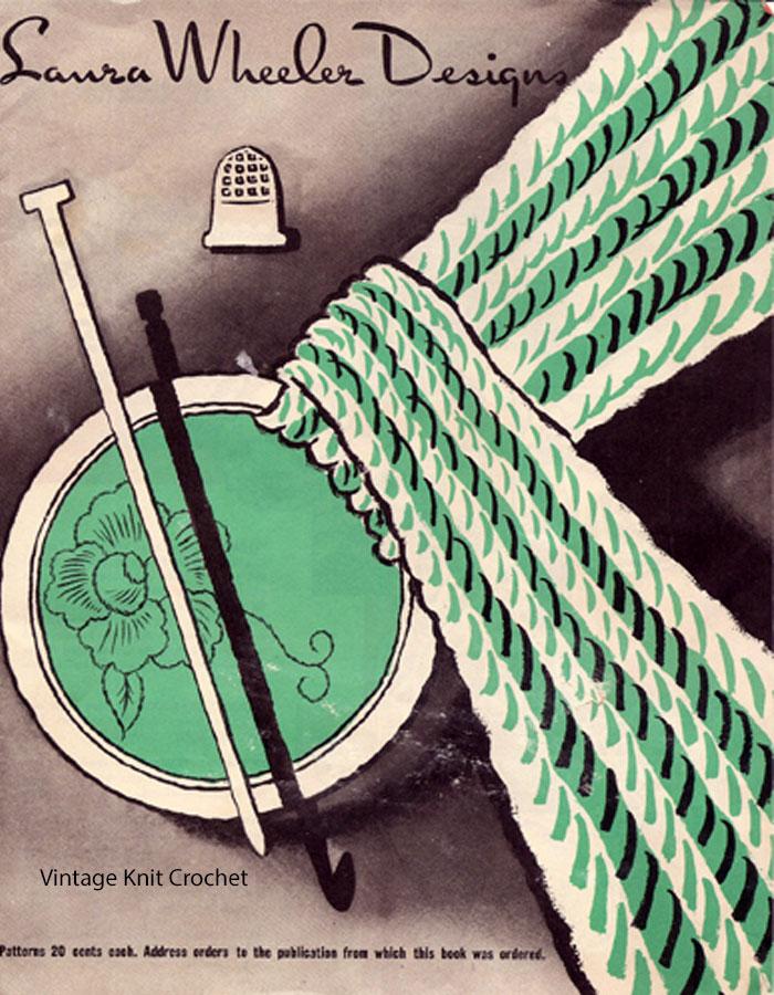 Laura Wheeler Pattern Catalog, 1962 Designs