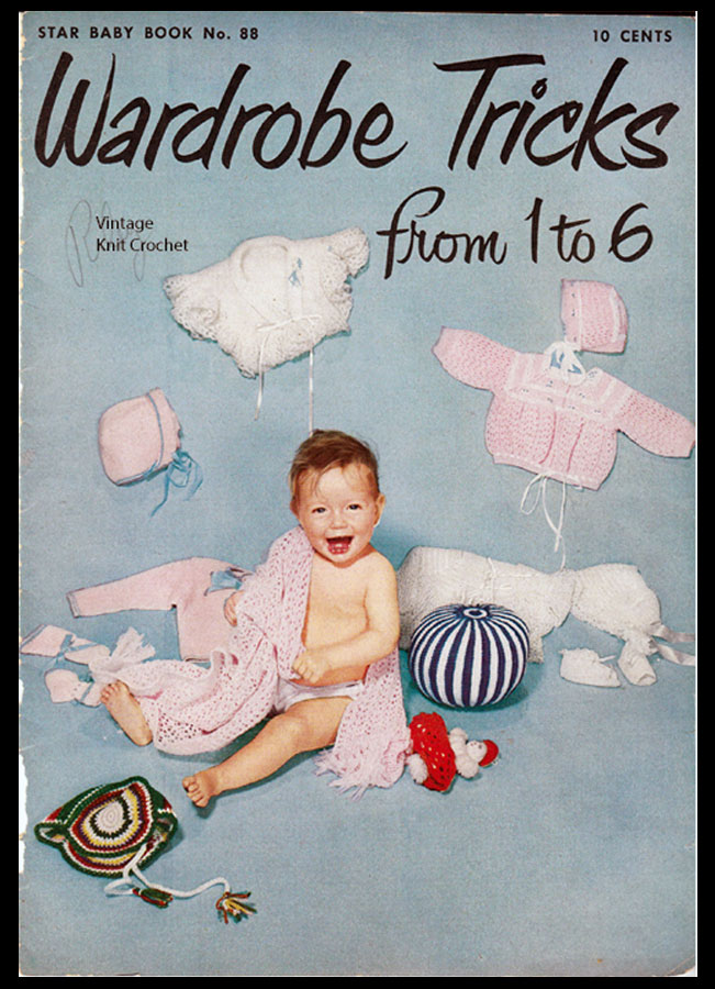 Crochet Baby Pattern Book Review, American Thread Book 88