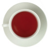 Exotic Strawberry and Kiwi Fruit Tea with a deep reddish colour