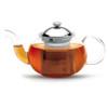 Camellia Glass Teapot