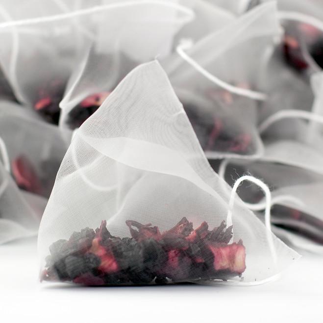 Delicious Berry Fruit Tea Pyramid Teabags