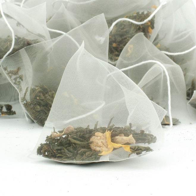 Lemon & Ginger Pyramid Teabags