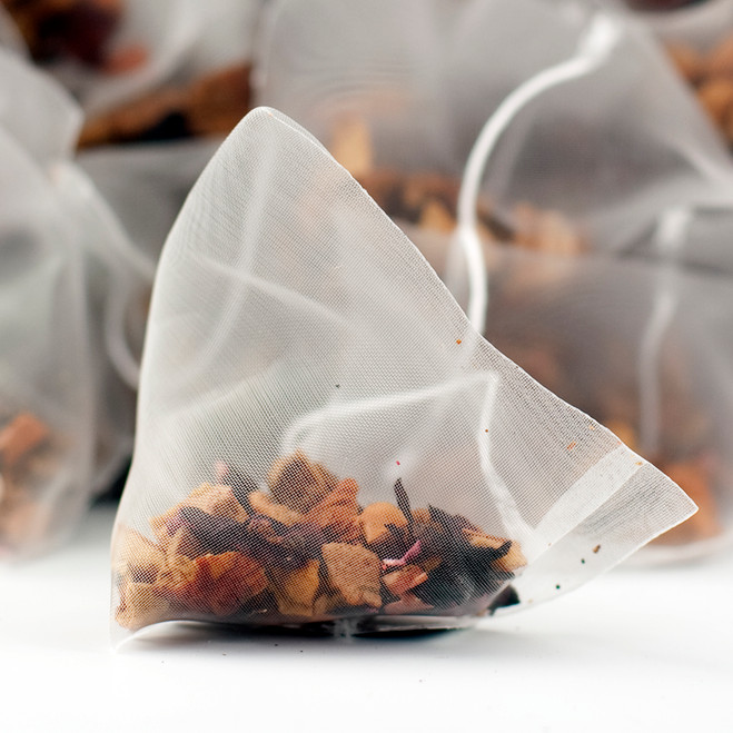 Orange & Apple Fruit Tea Pyramid Teabags