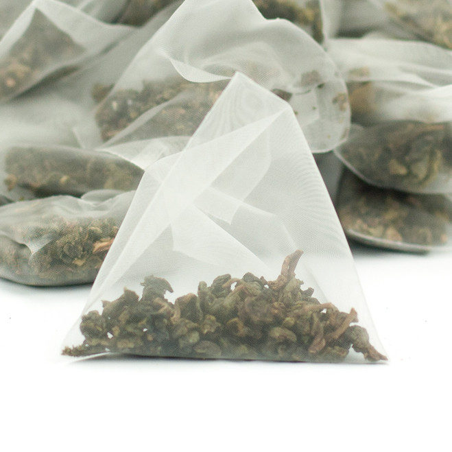 Ti Kuan Yin Iron Goddess Oolong Tea Pyramids