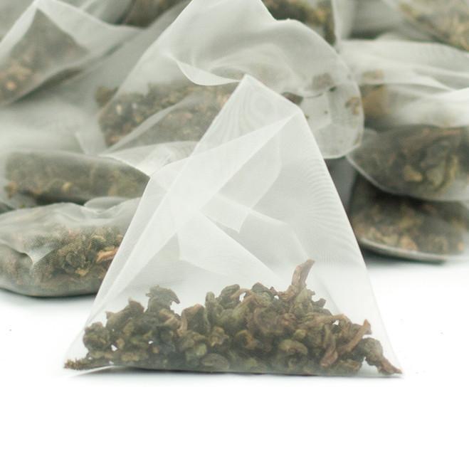 Ti Kuan Yin Iron Goddess Oolong Tea Pyramids