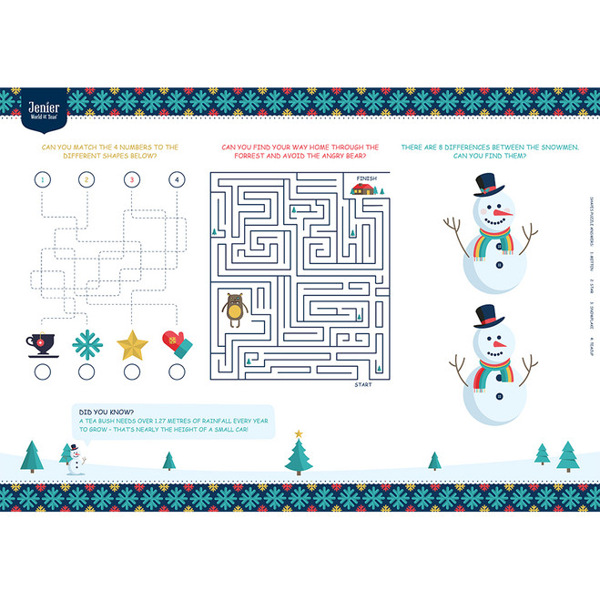 Winter Fun Sheet
