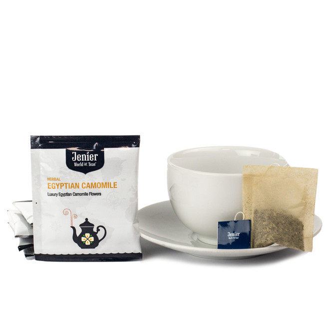 Egyptian Camomile Single Wrapped Premium Tea Bag