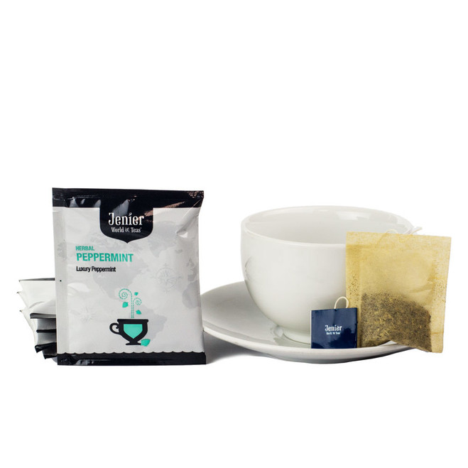 Jenier Wholesale Single Foil Wrapped Tea Bag sampler set.