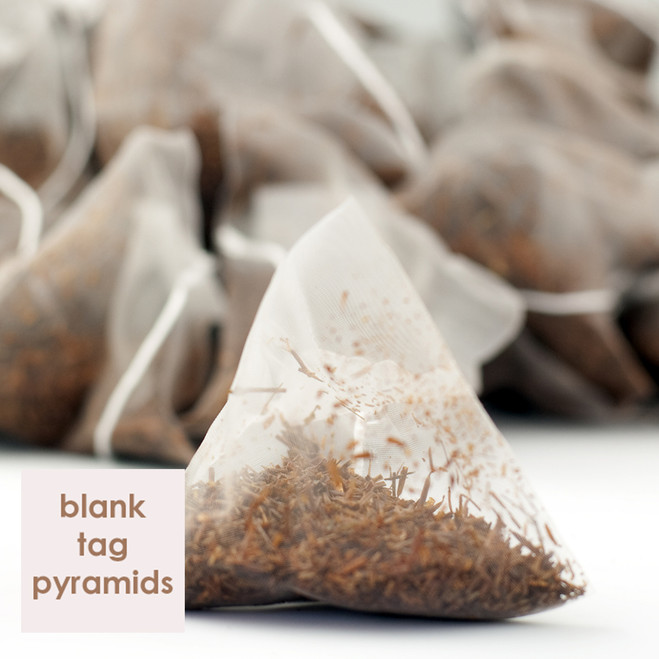 Clanwilliam Rooibos Blank Tag Pyramid Teabags