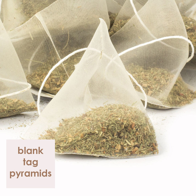Tangawizi Lemon Blank Tag Pyramids