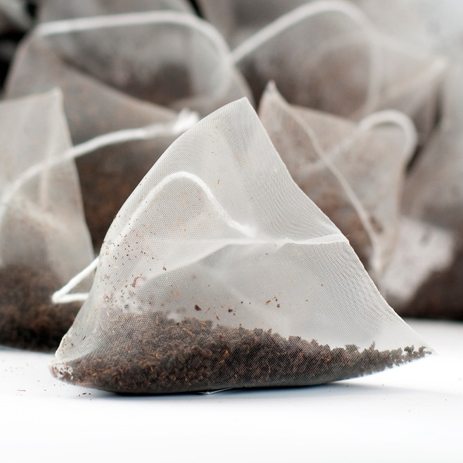 Marylebone Breakfast Plain White Tagged Pyramid Teabags