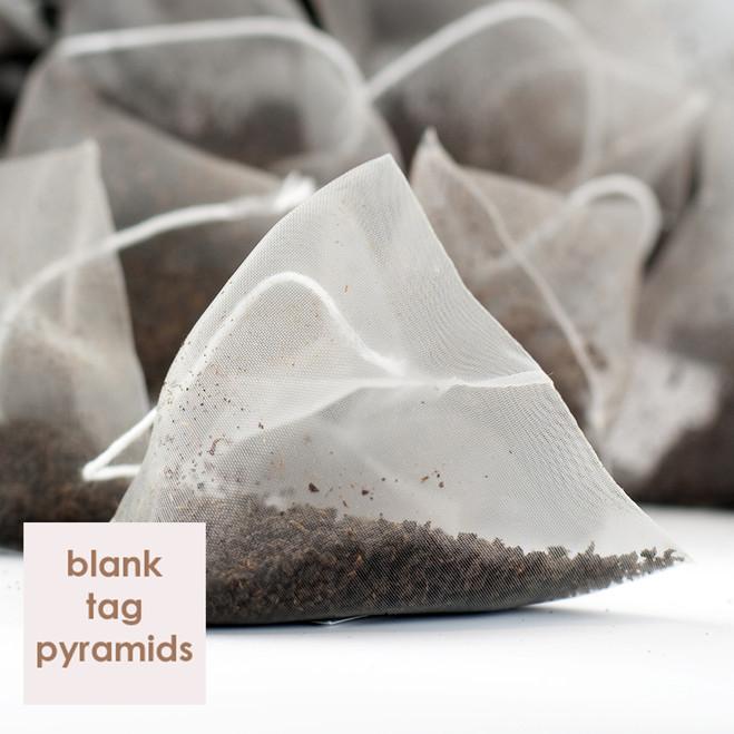 Marylebone Breakfast Plain White Tagged Pyramid Teabags