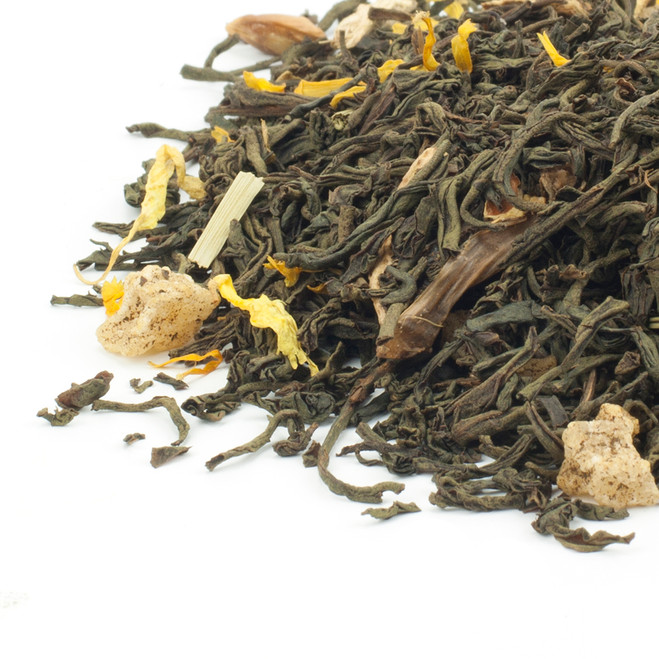 Lemon & Ginger Flavoured Black Tea