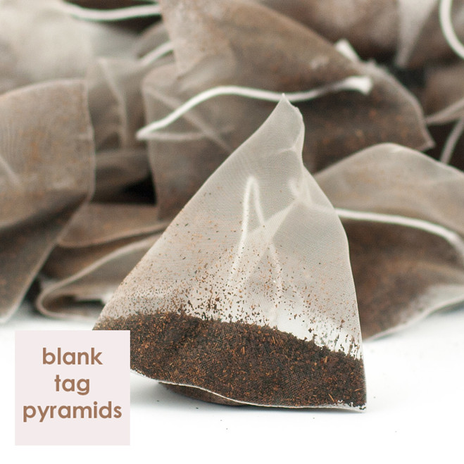 Decaffeinated Irish Breakfast Blank Tag Pyramid Teabags